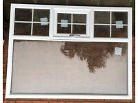 Brand New White uPVC Double Glazed Lounge Window 1745x1315