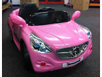 New Mercedes Style 12v Electric Ride on Kids car with remote control Pink