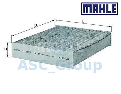 Genuine MAHLE Replacement Interior Air Cabin Pollen Filter LAK 251 LAK251