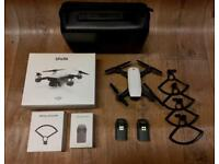 DJI SPARK drone with extras hardly used perfect condition