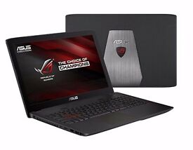 ASUS GL552VW GAMING LAPTOP - i7, 8GB RAM, 1TB HD + 256SSD, GAMING HEADSET + MOUSE INCLUDED