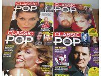 classic pop magazines x4