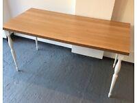 Tables/Desks - ikea linnmonn 150x75 with legs