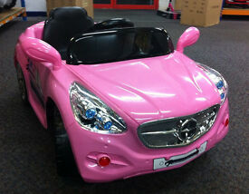 New Mercedes Style 12v Electric Battery Powered Ride on Kids Car Pink