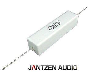 Jantzen Keramik-Widerstand 20 Watt (2 Stück) von 0,47 Ohm bis 39 Ohm alle Werte