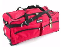 XXL Jeep 27 Inch Wheeled Travel Luggage Trolley Case Holdall Suitcase Duffle Bag