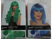 Smiffy's Fancy Dress Wigs - All Brand New. Priced from £8.00 - £30.00