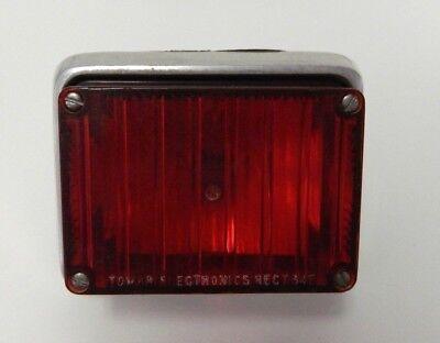 Tomar Electronics Strobe Light W Red Lens Rect-34e 4