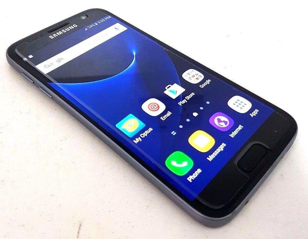 New Samsung Galaxy S7 SM-G930V  32GB - Black (Verizon) Smartphone