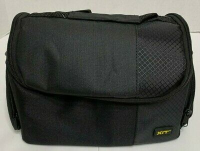 Xit XTCC3 Deluxe Digital Camera/Video Padded Carrying Case (Black) Free -