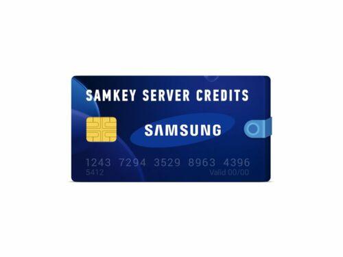 samkey code reader 1 credit for exiting user only