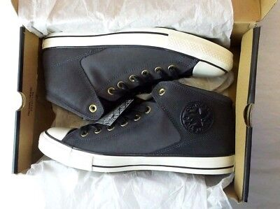 Converse Chuck Taylor All Star Leather Merry Way Shoes 10 Verging on Coal-black New Box