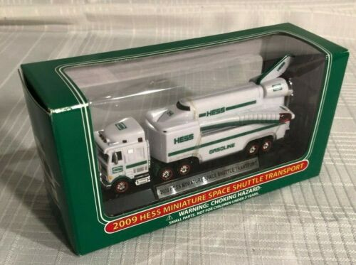 2009 HESS MINI SPACE SHUTTLE TRANSPORT- Brand new in box - NIB
