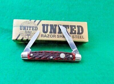 VTG 90'S UNITED BOKER GERMANY UC126 COURTHOUSE CONGRESS KNIFE:NR