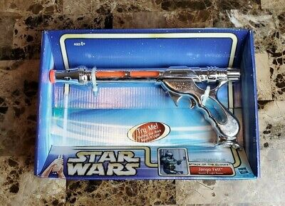 Jango Fett Sound & Light Blaster 2002 STAR - Star Wars Jango Fett Blaster