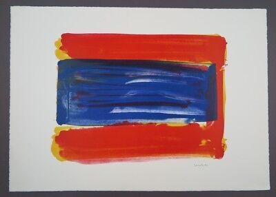 Jerry Zeniuk Berlin Lithograph 6 Farblithographie 1996 handsigniert und datiert