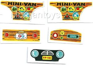 FISHER-PRICE-MINI-VAN-MINIVAN-REPLACEMENT-LITHOS-Little-People-Play-Family