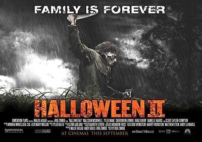 Halloween II Film Plakat: 30.5x40.6cm - Rob Zombie Poster (Style B)