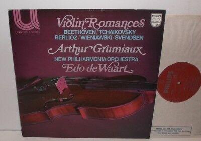 6580 047 Beethoven Tchaikovsky Berlioz Violin Romances Grumiaux NPO Edo De Waart
