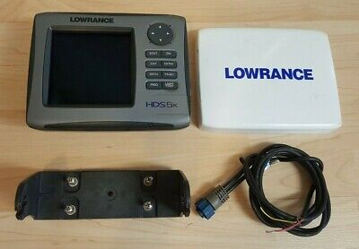 Lowrance HDS-5x  Fishfinder - Works great!