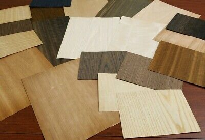 Large Lot Of Exotic And Common Wood Veneer Various Types