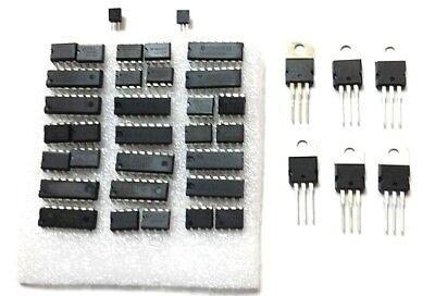 Linear Ic Kit Analog Assortment Of Op Amps Comparators Regulators Converters...