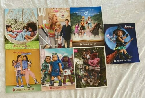 American Girl Catalog Lot of 7 from 2019 2020 2021 35th Anniversary Clements