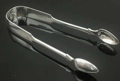 Silver Sugar Tongs, EXETER 1860, Edward Osment
