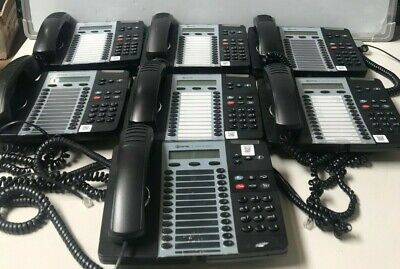 Lot Of 7 Mitel 5324 Ip Dual Mode Voip Phone W Stands