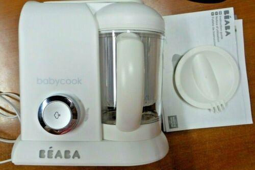BEABA Babycook 4 in 1 Steam Cooker & Blender, 4.5 Cups, White, Dishwasher