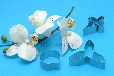 P Moth Decorator Moth Orchid cutter set of 3