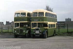 Grampian No.MRS275 & 90 Aberdeen Depot 1976 Bus Photo