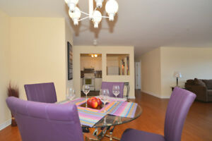 2 bdrm: laminate floors, in-suite laundry & balcony for JAN!