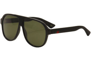 e0985ae8f710a Gucci Sunglasses Gg0009s Black Green 001 Authentic for sale online ...
