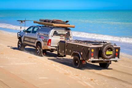 Camper Trailer, 2014, MDC Voyager Rear Folding Hard Floor Yungaburra Tablelands Preview