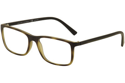Polo Ralph Lauren Men's Eyeglasses PH2162 5602 Vintage Havana Optical Frame 56mm