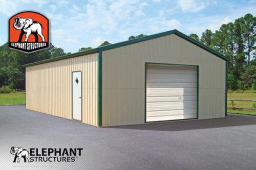 Metal Garage Building Kit - 20