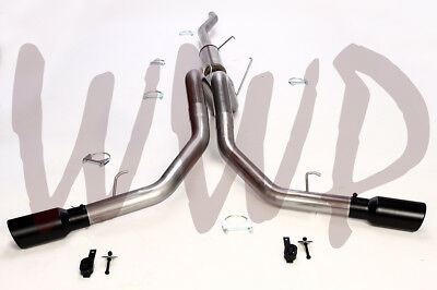 Stainless Dual Cat Back Exhaust Muffler System 06-08 Dodge Ram 1500 Hemi 5.7L V8 1500 Hemi Cat Back Exhaust