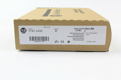 New In Box Sealed Allen Bradley 1747-l532 Series E Frn 11 Slc 500 Plc Module