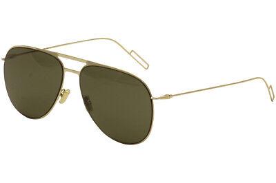 Christian Dior Women's 0205/S 0205S J5G/E4 Gold Fashion Pilot Sunglasses 59mm