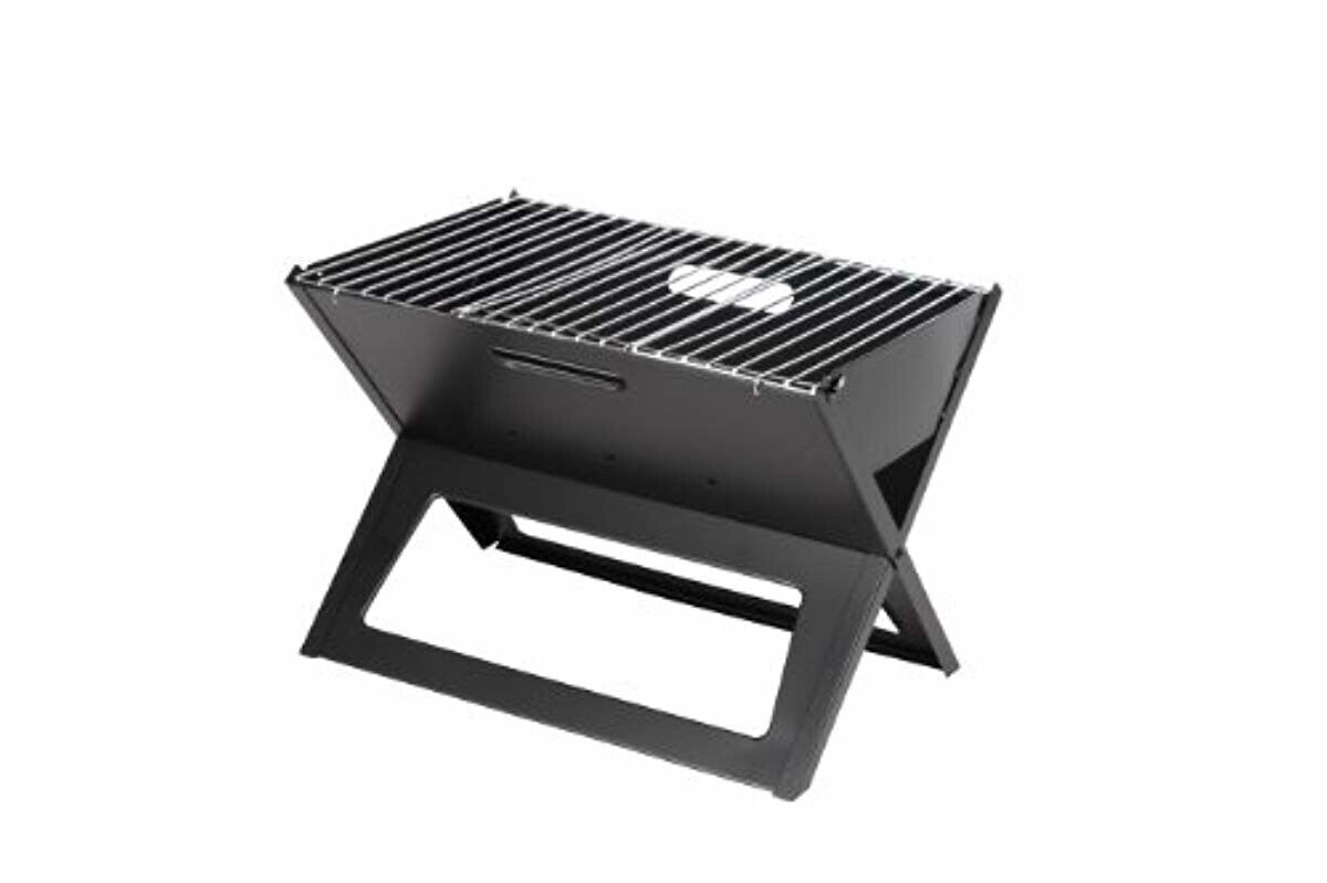 BRAND NEW Fire Sense Notebook Charcoal Grill-FAST SHIPPING