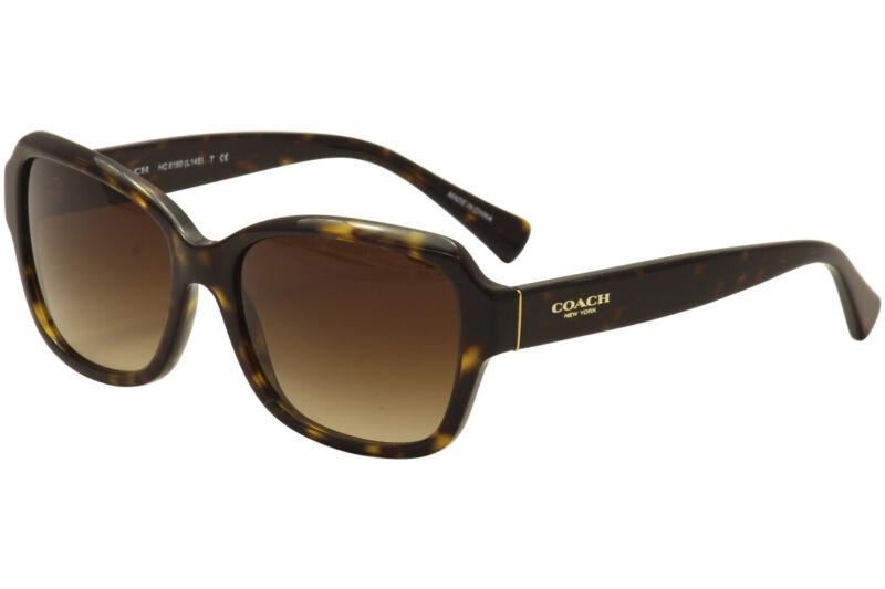 Coach Womens L145 HC8160 HC/8160 5120/13 Dark Tortoise Butterfly Sunglasses 56mm