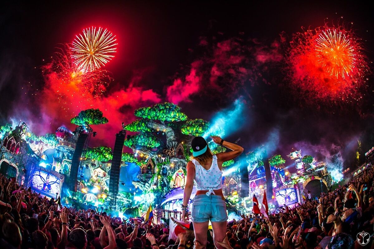 2x tomorrowland 2017 full madness weekend 1 magnificient green ticket pass eur 815 00. Black Bedroom Furniture Sets. Home Design Ideas