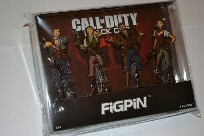 * R2B3 CALL OF DUTY BLACK OPS 4 Limited Edition * 4 FIGPIN Character Set *