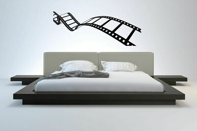 Wall Vinyl Sticker Decal Mural Design Movie Reel of Film Camera Action bo2381 for sale  Shipping to India