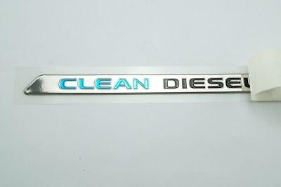Genuine plate logo emblem CLEAN DIESEL 7415A590 for Mitsubishi Triton 2018