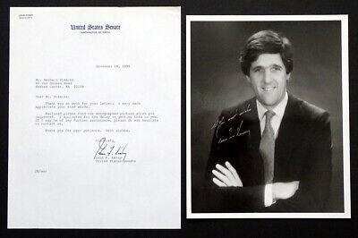 Secretary State SENATOR JOHN KERRY Signed AUTOGRAPH Photo PRESIDENTIAL NOMINEE