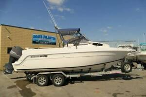 HAINES HUNTER 680SF ENCORE RARE BOAT IN EXCELLENT CONDITION