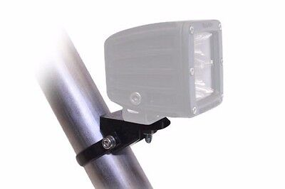 "Rigid Industries LED Light A-Pillar Bar Mount Clamp 0.875"" Inch Tube Black 40830"