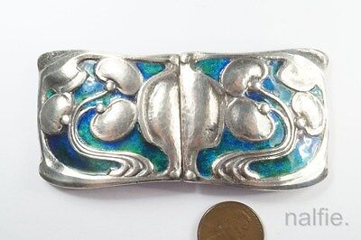 Antique French Art Nouveau Deco 1930 Silver Marcasite Pearl Brooch Pin Ravishing Art Nouveau/art Deco 1895-1935